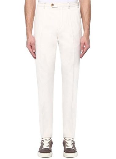 Brunello Cucinelli Pantolon Beyaz